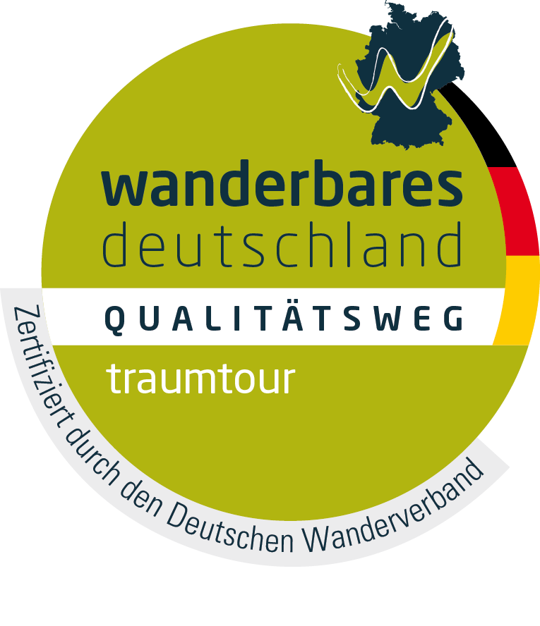 Logo Qualitätsweg Wanderbares Deutschland - traumtour