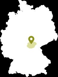 Karte Frankenwald