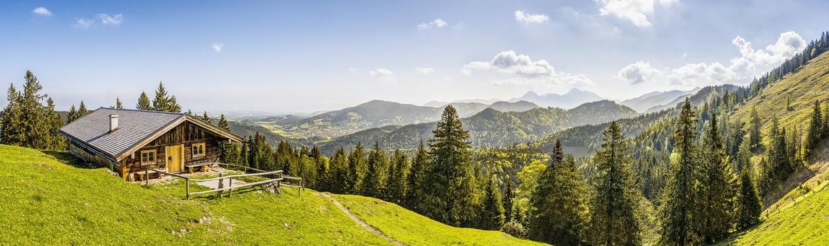 Berghütte in Oberbayern