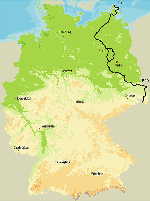 Karte E10