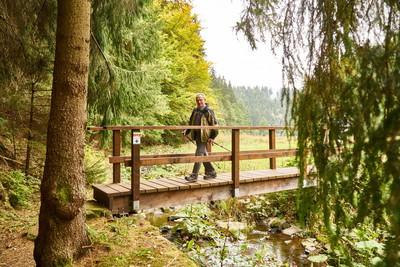 Stille hören auf dem FrankenwaldSteig