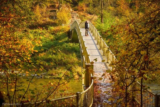 Brücke über der Lužnice