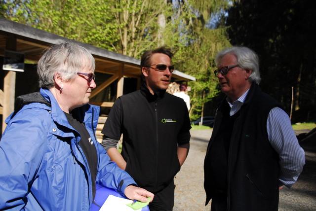 Wegemanager Björn Stumpf im Gespräch