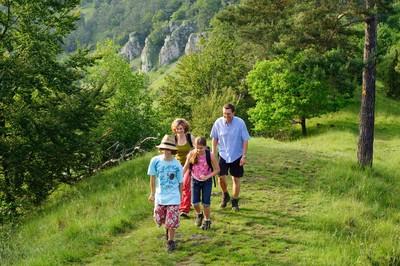 Wandern mit der ganzen Familie