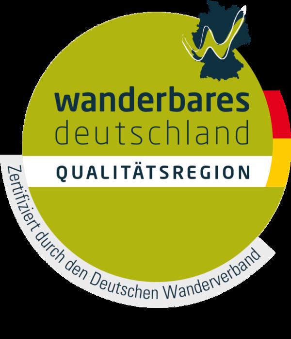Logo Qualitätsregion Wanderbares Deutschland