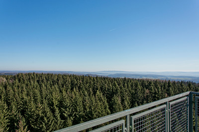 Blick vom Poppenbergturm