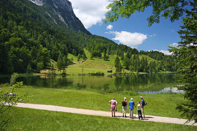 Wanderung am Ferchensee