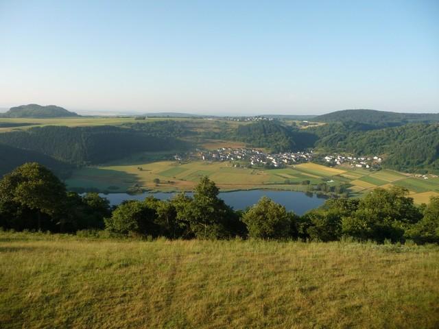 Meerfelder Maar in der Eifel