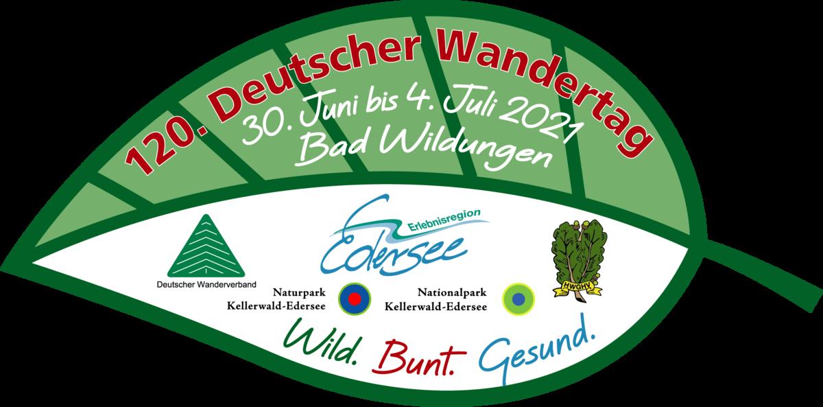 Logo des 120. Deutschen Wandertages