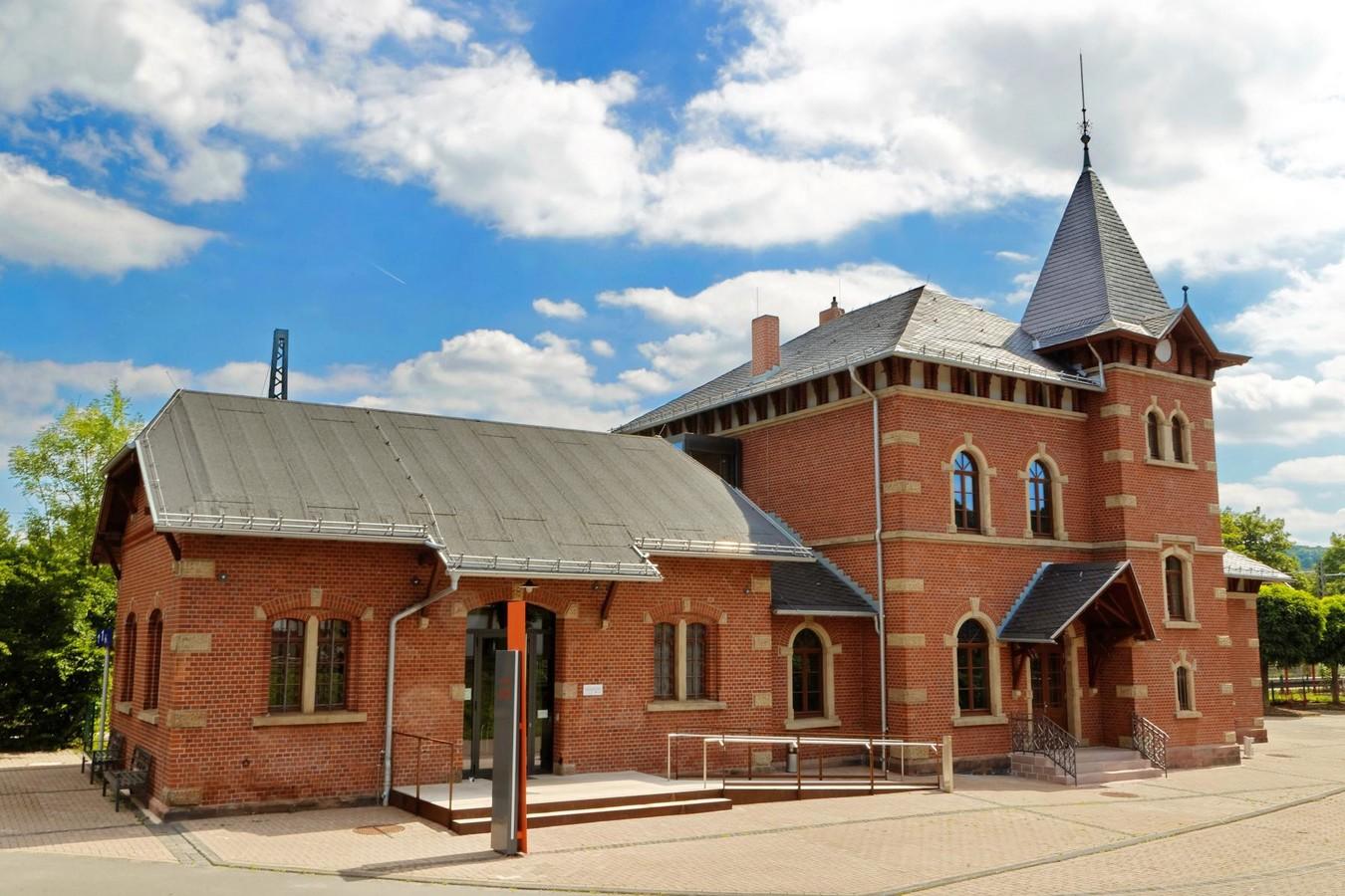 Das Museum Friedland ist im denkmalgeschützten Bahnhof von Friedland untergebracht.