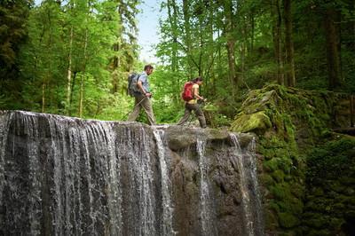 Die Wasserläufer Route der Wandertrilogie Allgäu