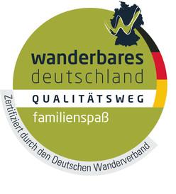 Logo Qualitätsweg familienspass