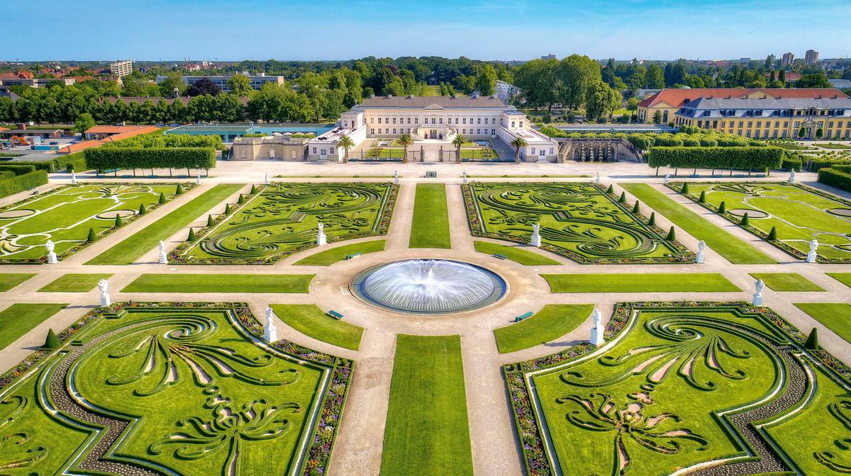 Paradies für Spaziergänge: die Herrenhäuser Gärten