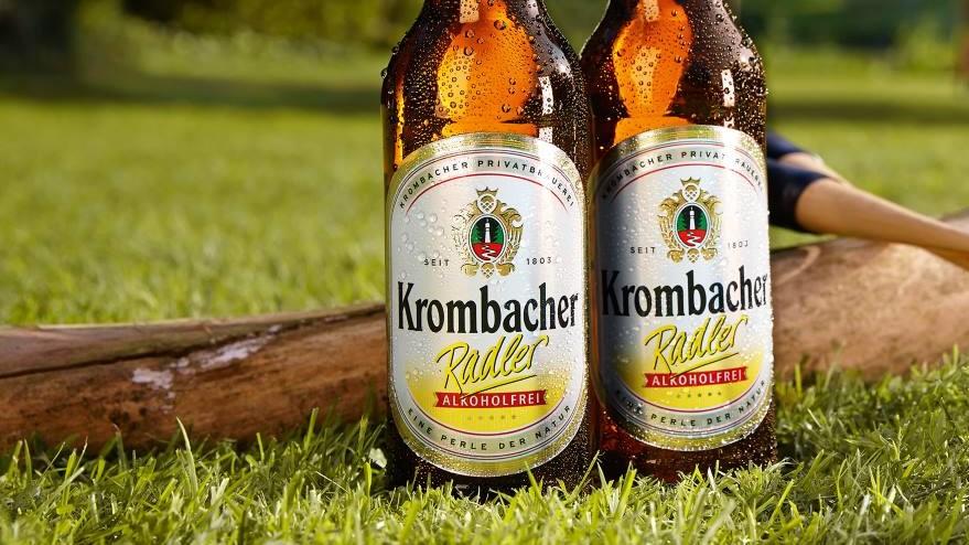 Krombacher Radler Alkoholfrei - Ideal zum Federballspiel