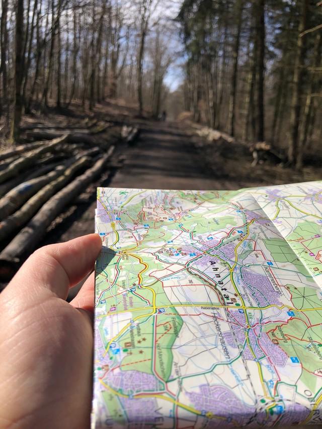 Tourenplanung mit der  Wanderkarte