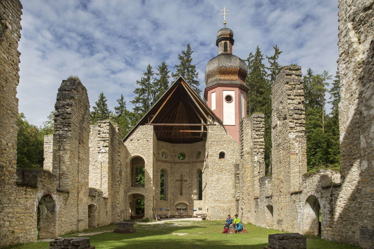 Kirchenruine Mariahilf bei Mühlheim