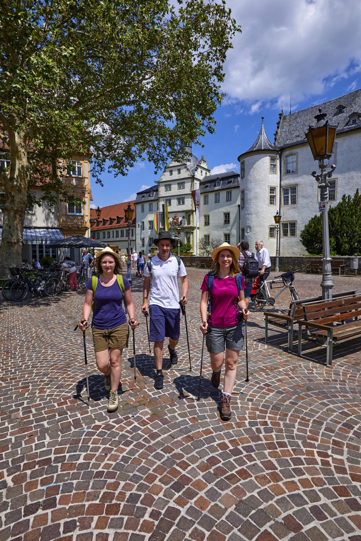Unbedingt zu empfehlen: Ein Besuch der Stadt Bad Mergentheim.