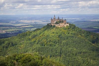 Burg Hohenzollern in der Schwäbischen Alb