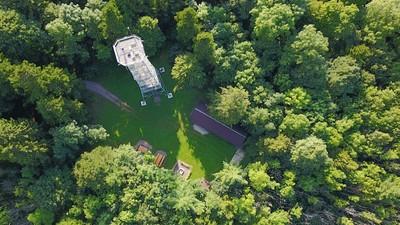 Turm auf dem höchsten Berg der Alb, dem Lemberg