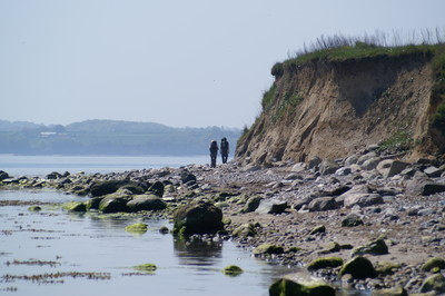 Gendarmenpfad in Dänemark: Borreshoved Strand