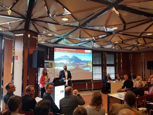 Full House beim ITB Fachforum Wandern 2019